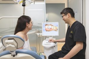 Lakeside Dental Studio Dentist and Patient